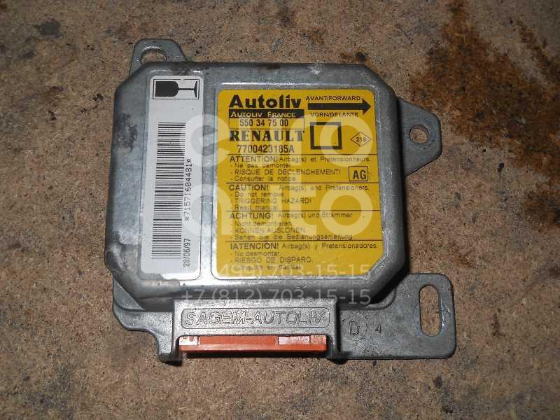 Блок управления AIR BAG для Renault Megane 1996-1999;Megane 1999-2002 - Фото №1