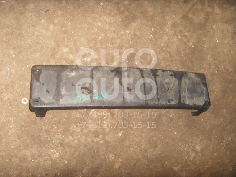 Накладка переднего бампера под номер для Mercedes Benz W203 2000-2006 - Фото №1