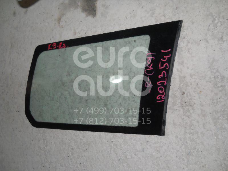 Стекло кузовное глухое правое для Mitsubishi Pajero/Montero Sport (K9) 1997-2008 - Фото №1