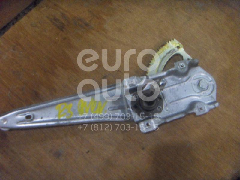Стеклоподъемник механ. задний правый для Toyota Avensis II 2003-2008 - Фото №1