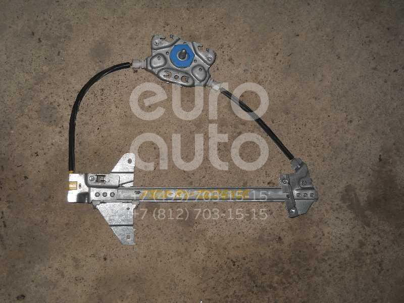 Стеклоподъемник механ. задний правый для Peugeot 307 2001-2007 - Фото №1