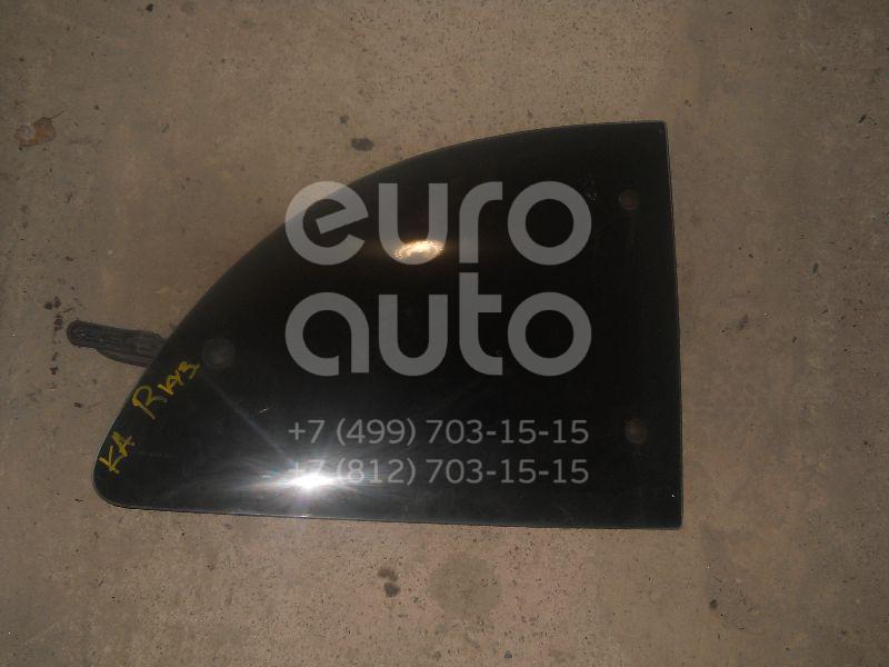 Стекло кузовное открывающееся (форточка) правое для Ford KA 1996-2008 - Фото №1