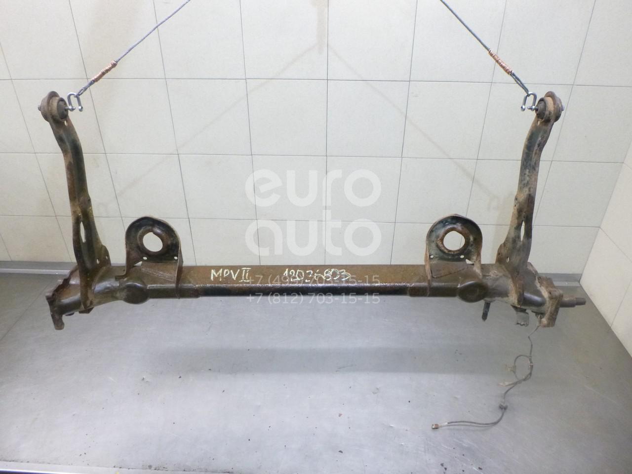 Балка задняя для Mazda MPV II (LW) 1999-2006 - Фото №1