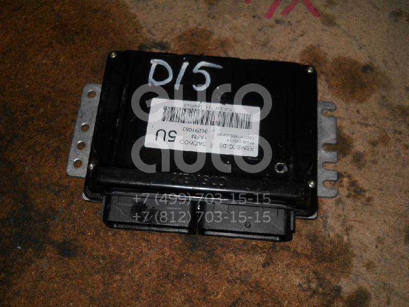 Блок управления двигателем для Daewoo Matiz 1998-2015 - Фото №1