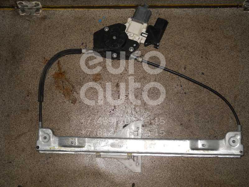 Стеклоподъемник электр. задний правый для Mitsubishi Colt (Z3) 2003-2012 - Фото №1
