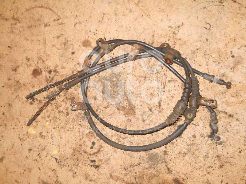 Трос стояночного тормоза для Chevrolet Aveo (T250) 2005-2011 - Фото №1