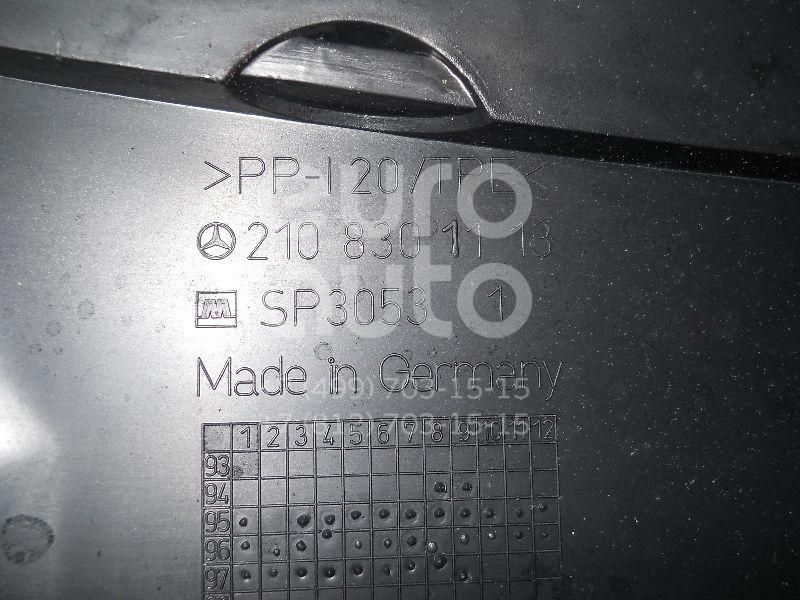 Решетка стеклооч. (планка под лобовое стекло) для Mercedes Benz W210 E-Klasse 1995-2000;W210 E-Klasse 2000-2002 - Фото №1