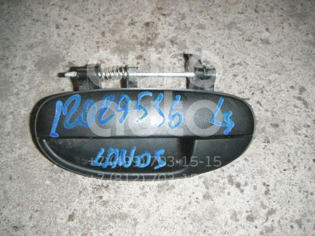Ручка двери задней наружная левая для Chevrolet Lanos 2004>;Lanos 1997> - Фото №1