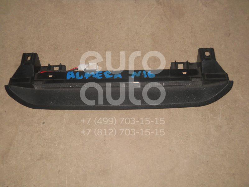 Фонарь задний (стоп сигнал) для Nissan Almera N16 2000-2006 - Фото №1