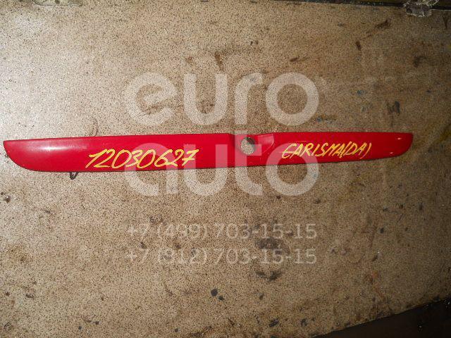 Накладка двери багажника для Mitsubishi Carisma (DA) 2000-2003 - Фото №1