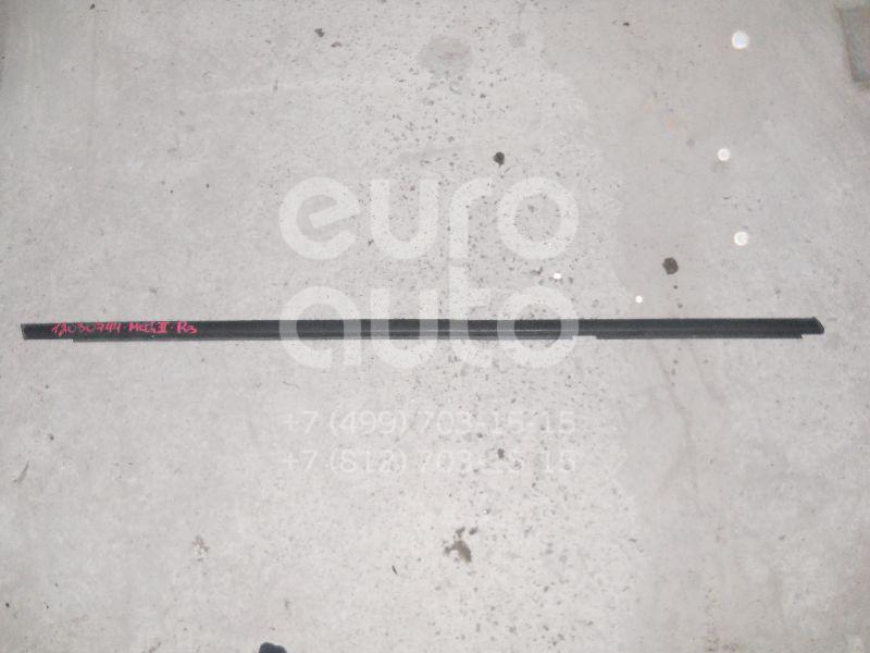 Накладка стекла заднего правого для Renault Megane II 2003-2009 - Фото №1