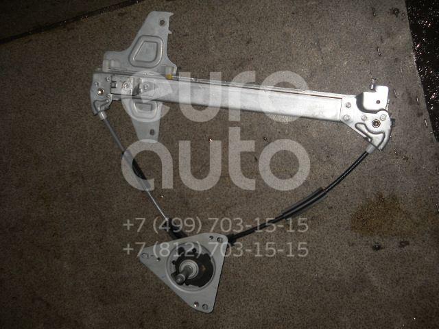 Стеклоподъемник механ. задний левый для Citroen C4 2005-2011 - Фото №1