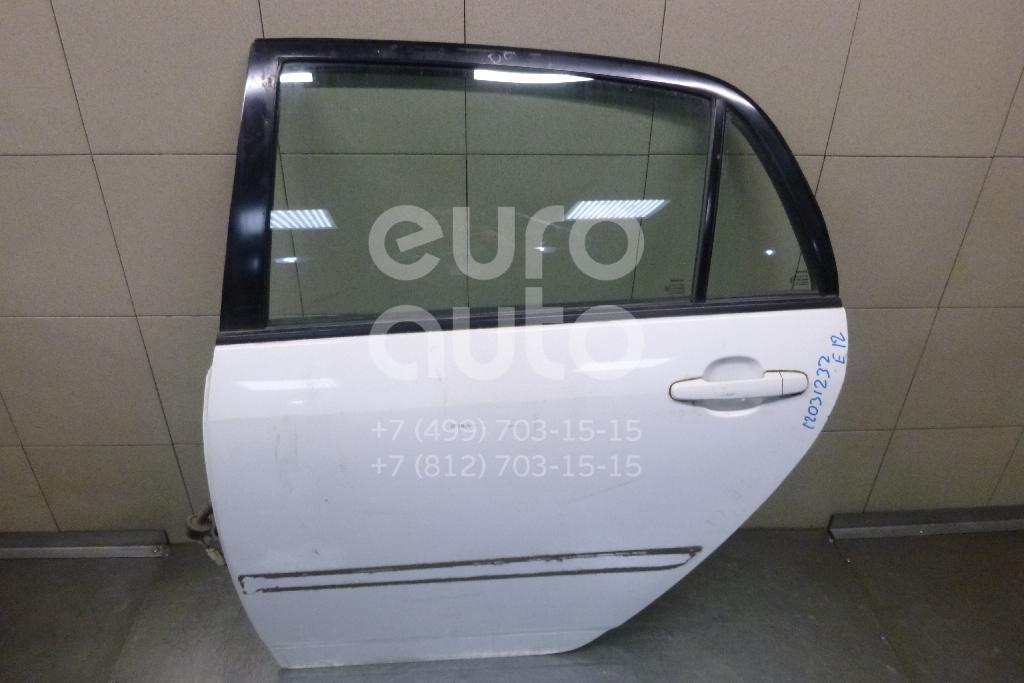 Дверь задняя левая для Toyota Corolla E12 2001-2007 - Фото №1