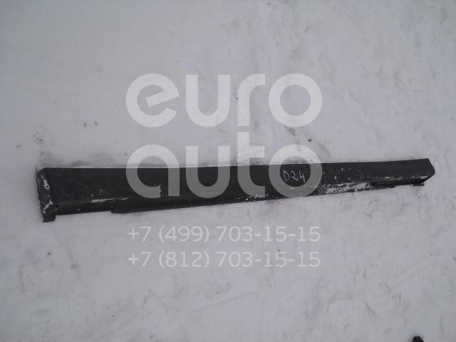 Накладка на порог (наружная) для Subaru Forester (S10) 1997-2000 - Фото №1