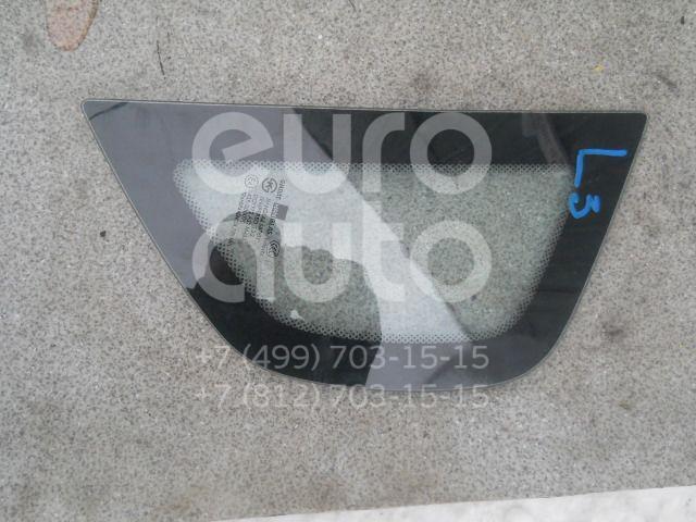Стекло кузовное глухое левое для Chevrolet Aveo (T250) 2005-2011 - Фото №1