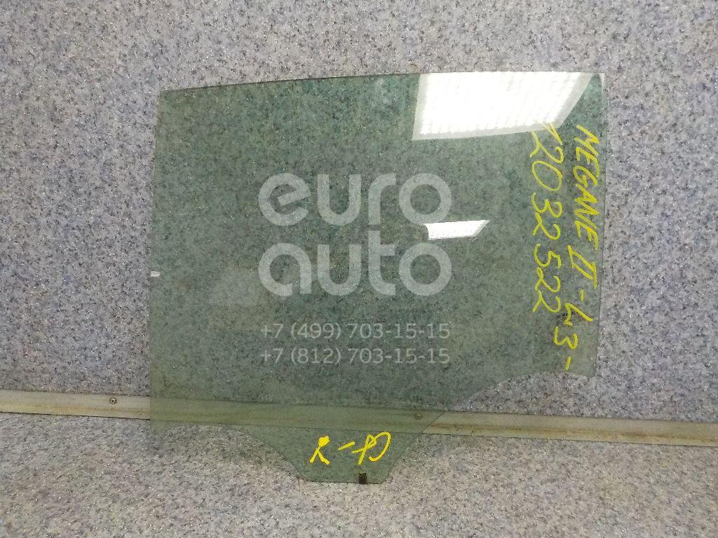 Стекло двери задней левой для Renault Megane II 2002-2009 - Фото №1