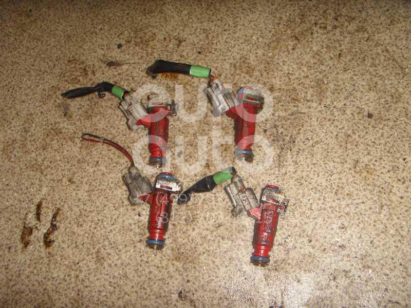 Форсунка инжекторная электрическая для Nissan Almera N16 2000-2006;Primera P11E 1996-2002;Almera Tino 2000>;Primera P12E 2002> - Фото №1