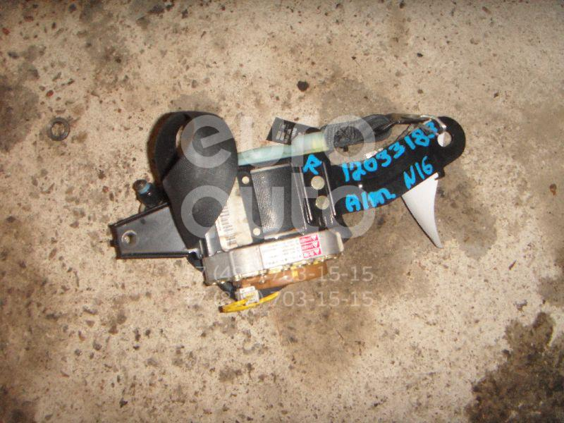 Ремень безопасности с пиропатроном для Nissan Almera N16 2000-2006 - Фото №1