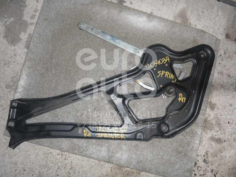 Стеклоподъемник механ. передний правый для Mercedes Benz Sprinter (901-905)/Sprinter Classic (909) 1995-2006 - Фото №1