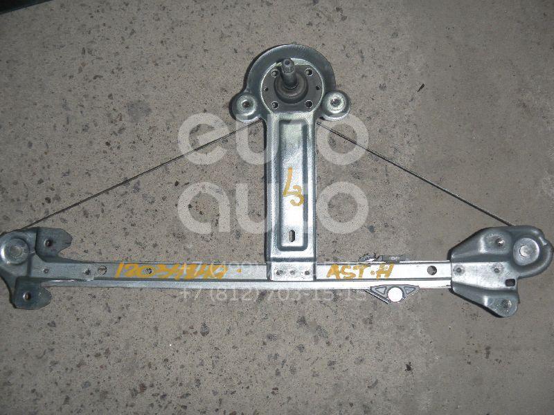 Стеклоподъемник механ. задний левый для Opel Astra H / Family 2004-2015 - Фото №1