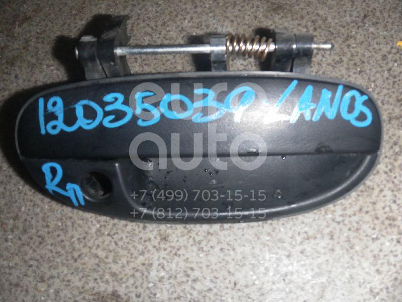 Ручка двери передней наружная правая для Chevrolet,Daewoo Lanos 2004>;Lanos 1997-2009 - Фото №1