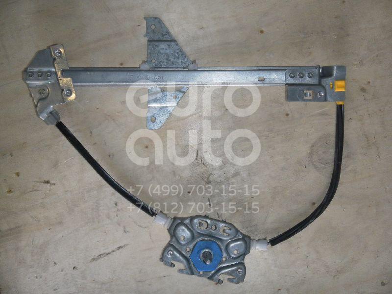 Стеклоподъемник механ. задний правый для Peugeot 307 2001-2008 - Фото №1