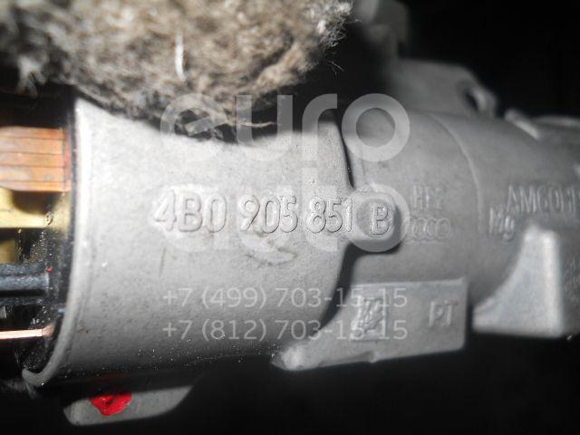 Замок зажигания для VW,Audi,Skoda Golf IV/Bora 1997-2005;A4 [B5] 1994-2001;A8 [4D] 1994-1998;Passat [B5] 1996-2000;A8 [4D] 1999-2002;Passat [B5] 2000-2005;Superb 2002-2008 - Фото №1