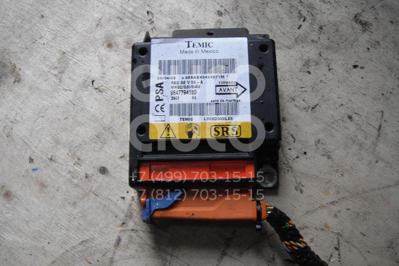Блок управления AIR BAG для Citroen C3 2002-2009 - Фото №1