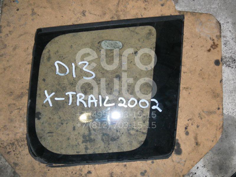 Стекло кузовное глухое правое для Nissan X-Trail (T30) 2001-2006 - Фото №1