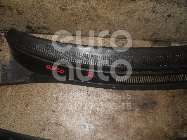 Решетка стеклооч. (планка под лобовое стекло) для Chevrolet Aveo (T200) 2003-2008 - Фото №1