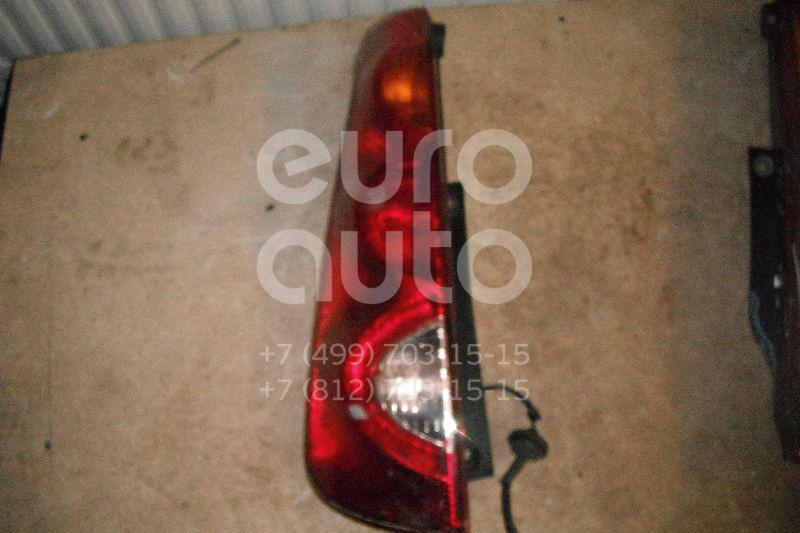 Фонарь задний левый для Nissan Note (E11) 2006-2013 - Фото №1
