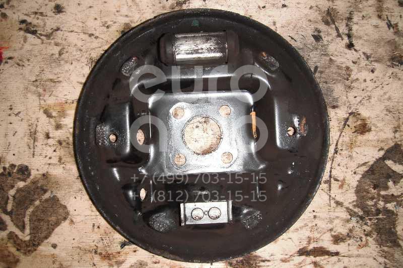 Щит опорный задний левый для Nissan Note (E11) 2006-2013;Micra (K12E) 2002-2010 - Фото №1