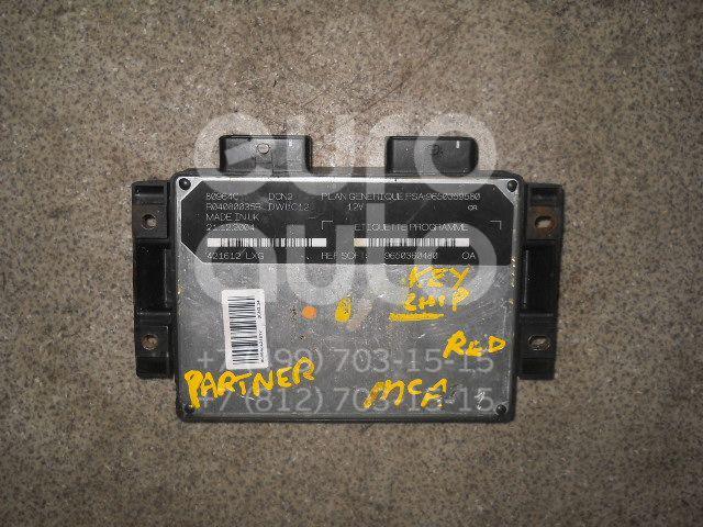 Блок управления двигателем для Peugeot,Citroen Partner (M59) 2002-2010;Berlingo(FIRST) (M59) 2002-2012 - Фото №1