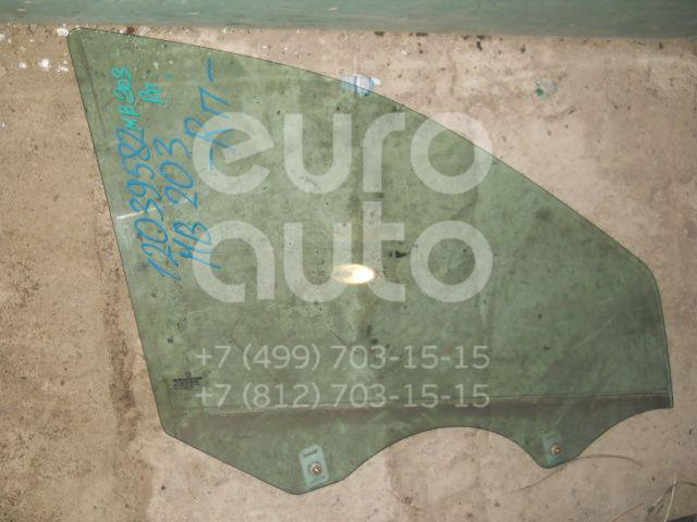Стекло двери передней правой для Mercedes Benz W203 2000-2006 - Фото №1