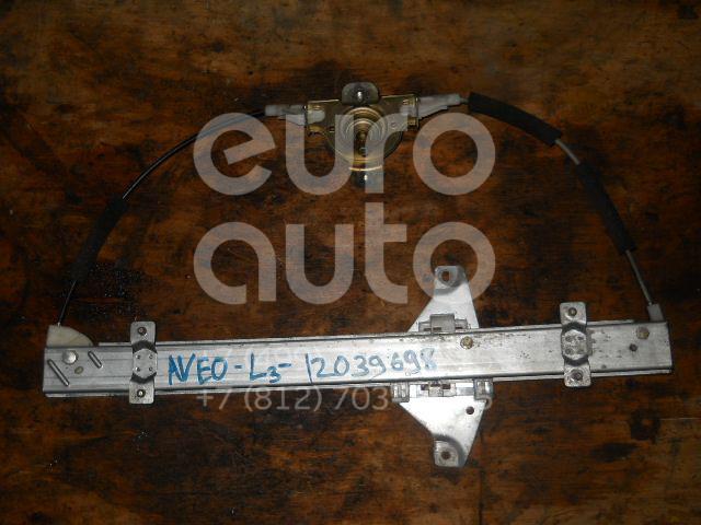 Стеклоподъемник механ. задний левый для Chevrolet Aveo (T200) 2003-2008 - Фото №1