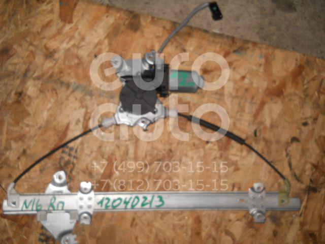 Стеклоподъемник электр. передний правый для Nissan Almera N16 2000-2006 - Фото №1