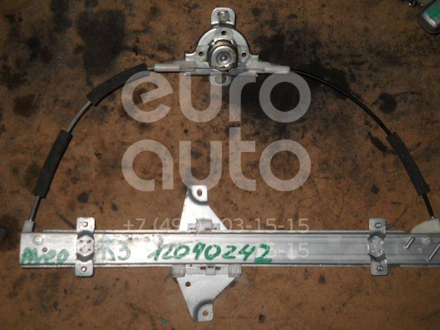 Стеклоподъемник механ. задний правый для Chevrolet Aveo (T250) 2005-2011 - Фото №1