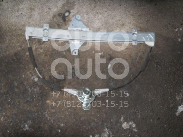 Стеклоподъемник механ. задний левый для Chevrolet Aveo (T250) 2005-2011 - Фото №1