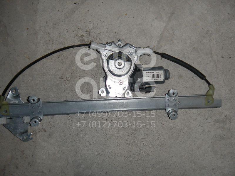 Стеклоподъемник электр. передний правый для Nissan Note (E11) 2006-2013 - Фото №1