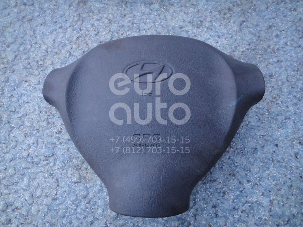 Подушка безопасности в рулевое колесо для Hyundai Santa Fe (SM)/ Santa Fe Classic 2000-2012 - Фото №1