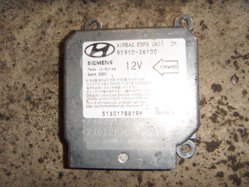 Блок управления AIR BAG для Hyundai Santa Fe (SM) 2000-2005 - Фото №1