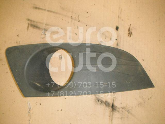 Решетка в бампер правая для Renault Logan 2005-2014 - Фото №1