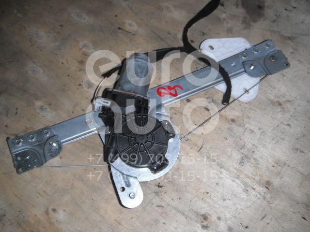 Стеклоподъемник электр. задний левый для Renault Logan 2005-2014 - Фото №1