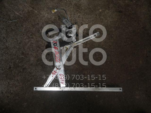Стеклоподъемник электр. передний правый для Chevrolet Aveo (T250) 2005-2011 - Фото №1