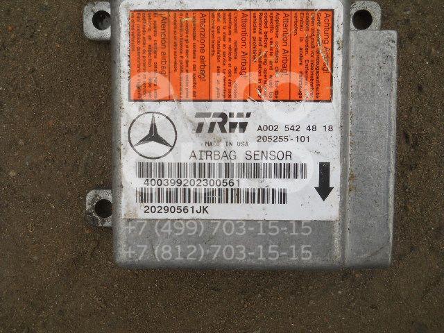 Блок управления AIR BAG для Mercedes Benz W163 M-Klasse (ML) 1998-2004 - Фото №1