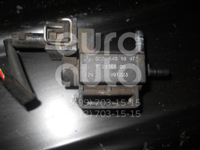Клапан электромагнитный для Mercedes Benz W163 M-Klasse (ML) 1998-2004;W202 1993-2000;W220 1998-2005;C208 CLK coupe 1997-2002;G-Class W463 1989>;W215 coupe 1999-2006;R230 SL 2001-2012;W203 2000-2006;W219 CLS 2004-2010;W221 2005-2013 - Фото №1