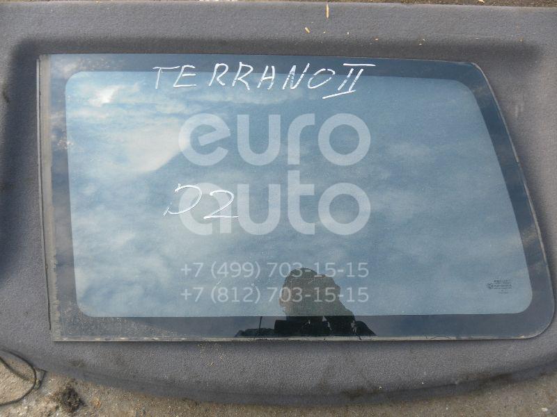 Стекло кузовное глухое правое для Nissan Terrano II (R20) 1993-2004 - Фото №1