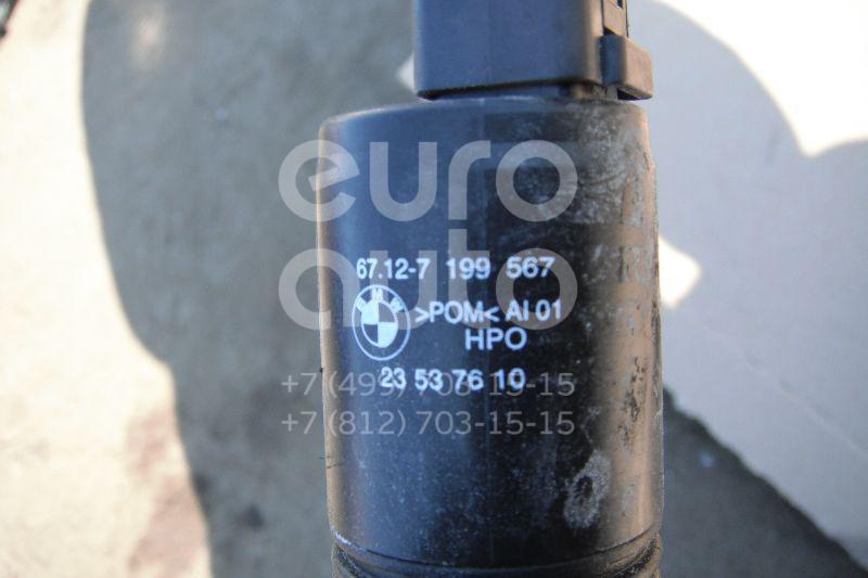 Насос омывателя для BMW,Audi,Skoda 1-серия E87/E81 2004-2011;A2 [8Z0] 2000-2005;A4 [B5] 1994-2001;TT(8N) 1998-2006;3-серия E36 1991-1998;3-серия E46 1998-2005;5-серия E39 1995-2003;7-серия E38 1994-2001;Octavia (A4 1U-) 2000-2011 - Фото №1