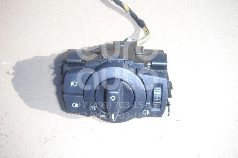 Переключатель света фар для BMW 1-серия E87/E81 2004-2011;3-серия E90/E91 2005-2012;X1 E84 2009-2015;1-серия E82/E88 2007-2013 - Фото №1
