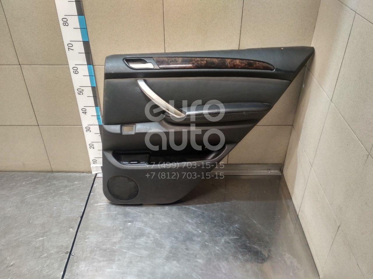 Обшивка двери задней правой для BMW X5 E53 2000-2007 - Фото №1